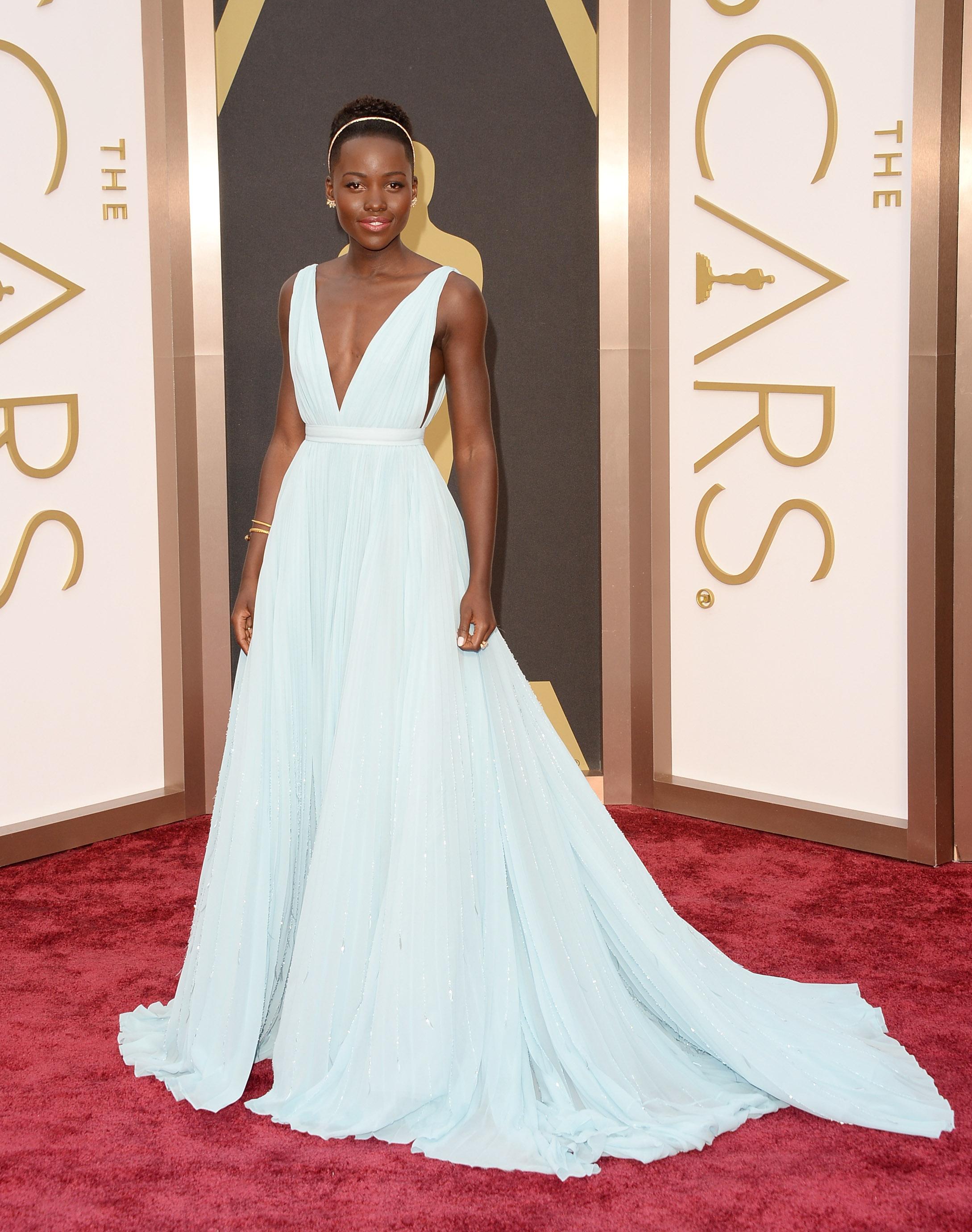 Lupita Nyong'o no Oscar 2014.