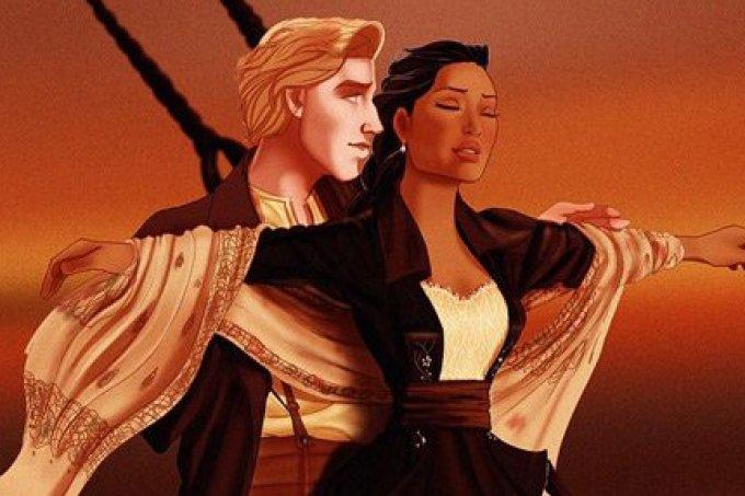 Artista imagina personagens da Disney nos filmes de Leonardo DiCaprio