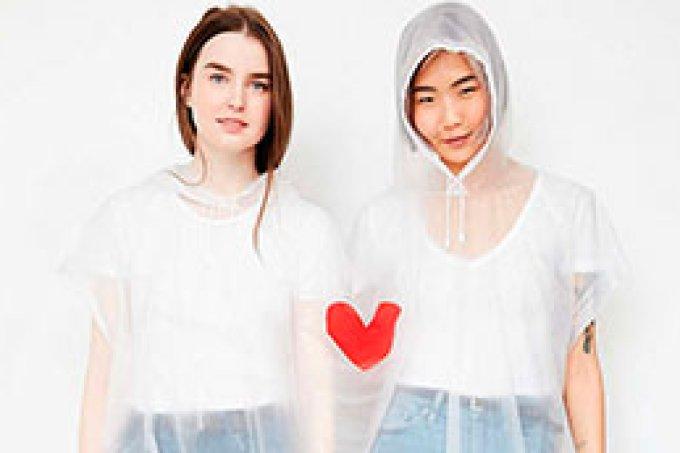 capa de chuva amigas fashionistas bff