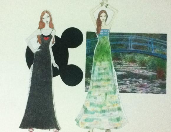 Nina Reis, curso de moda
