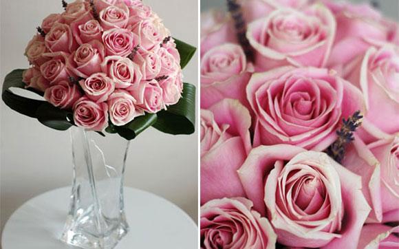 Rosas são encontradas o ano todo - Foto: Pinterest