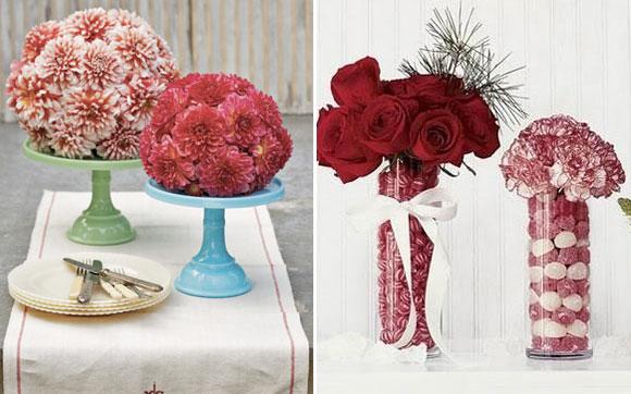 Pedestais diferentes deixam as mesas muto mais charmosas - Foto: Pinterest