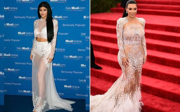 kylie-jenner-kim-kardashian-gemeas-looks-iguais-
