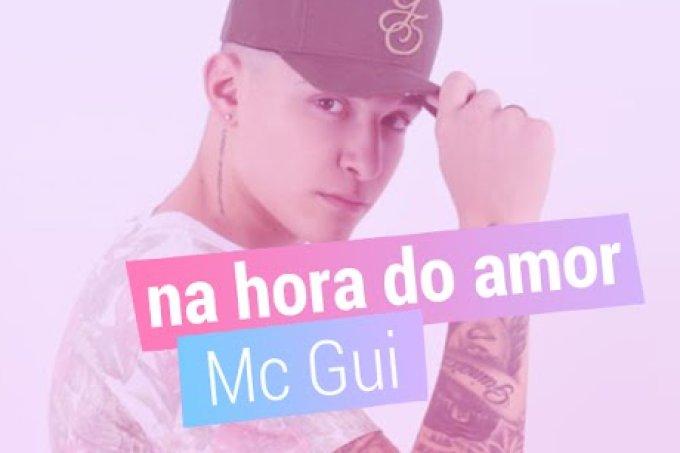 Escute trecho exclusivo da nova música do Mc Gui, Na Hora do Amor