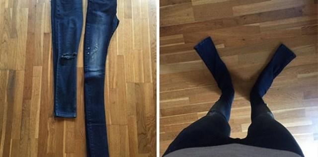 Jeans para humanos ou para gigantes?