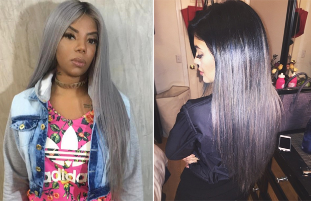 Ludmilla cabelo igual Kylie Jenner