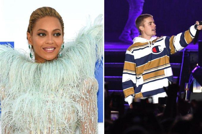 Beyoncé e Justin Bieber EMA 16