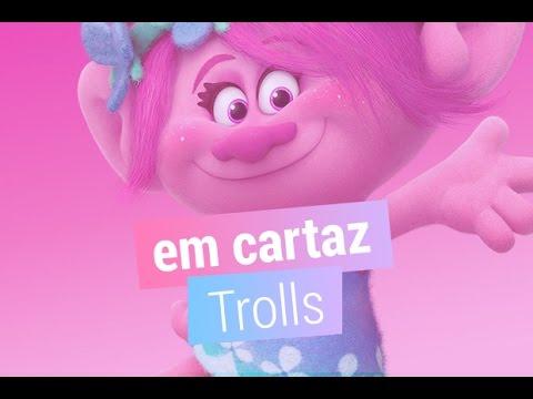 A animação Trolls chega aos cinemas