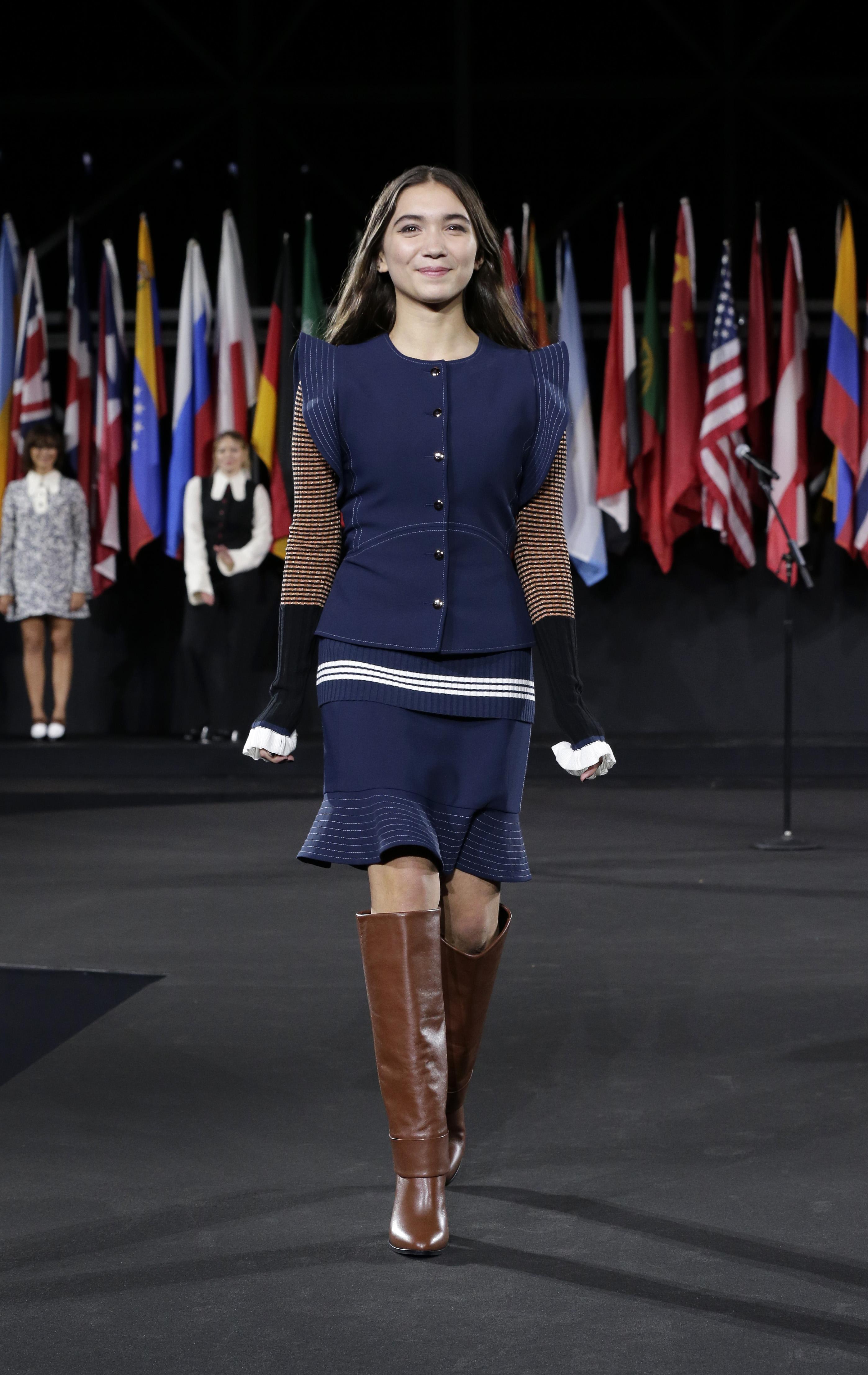Tão fashionista, Rowan já até desfilou na NYFW, embora seja atriz. Foto:
