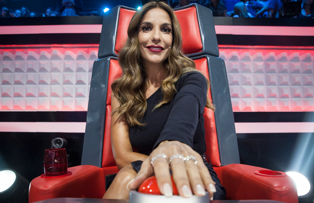 Ivete Sangalo supertécnica The Voice