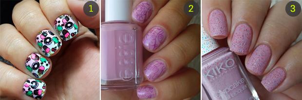 nail-arte-esmalte-rosa-1