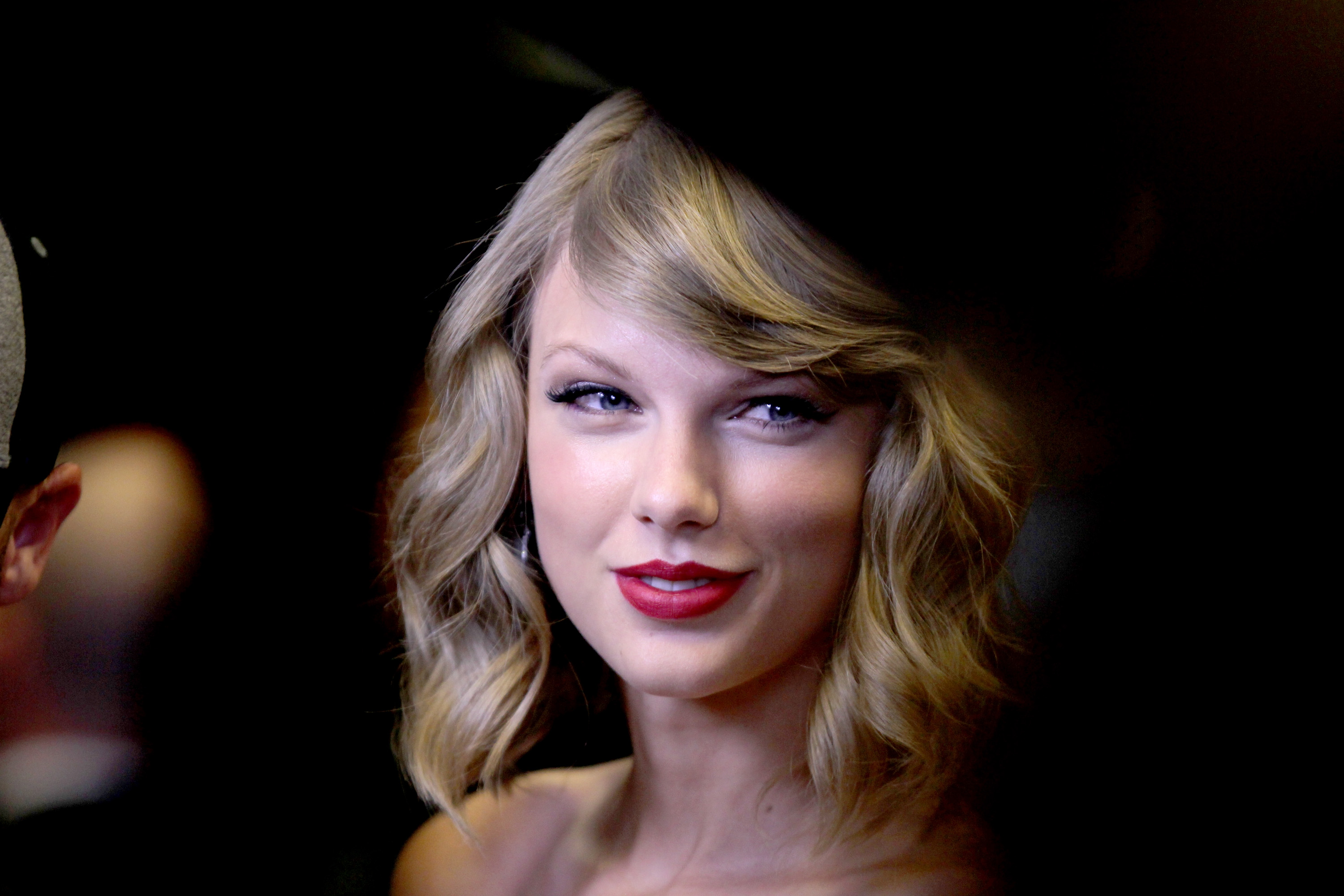 LAS VEGAS, NV - SEPTEMBER 19:  Recording artist Taylor Swift attends the 2014 iHeartRadio Music Festival at the MGM Grand Garden on September 19, 2014 in Las Vegas, Nevada.  (Photo by Isaac Brekken/Getty Images for iHeartMedia)