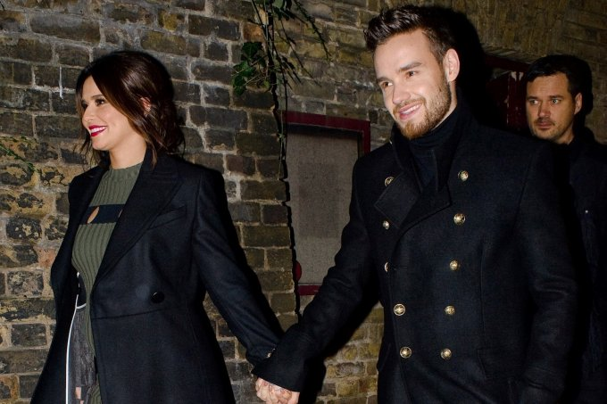 Cheryl and Liam Payne attend The Piccadilly Christmas Concert