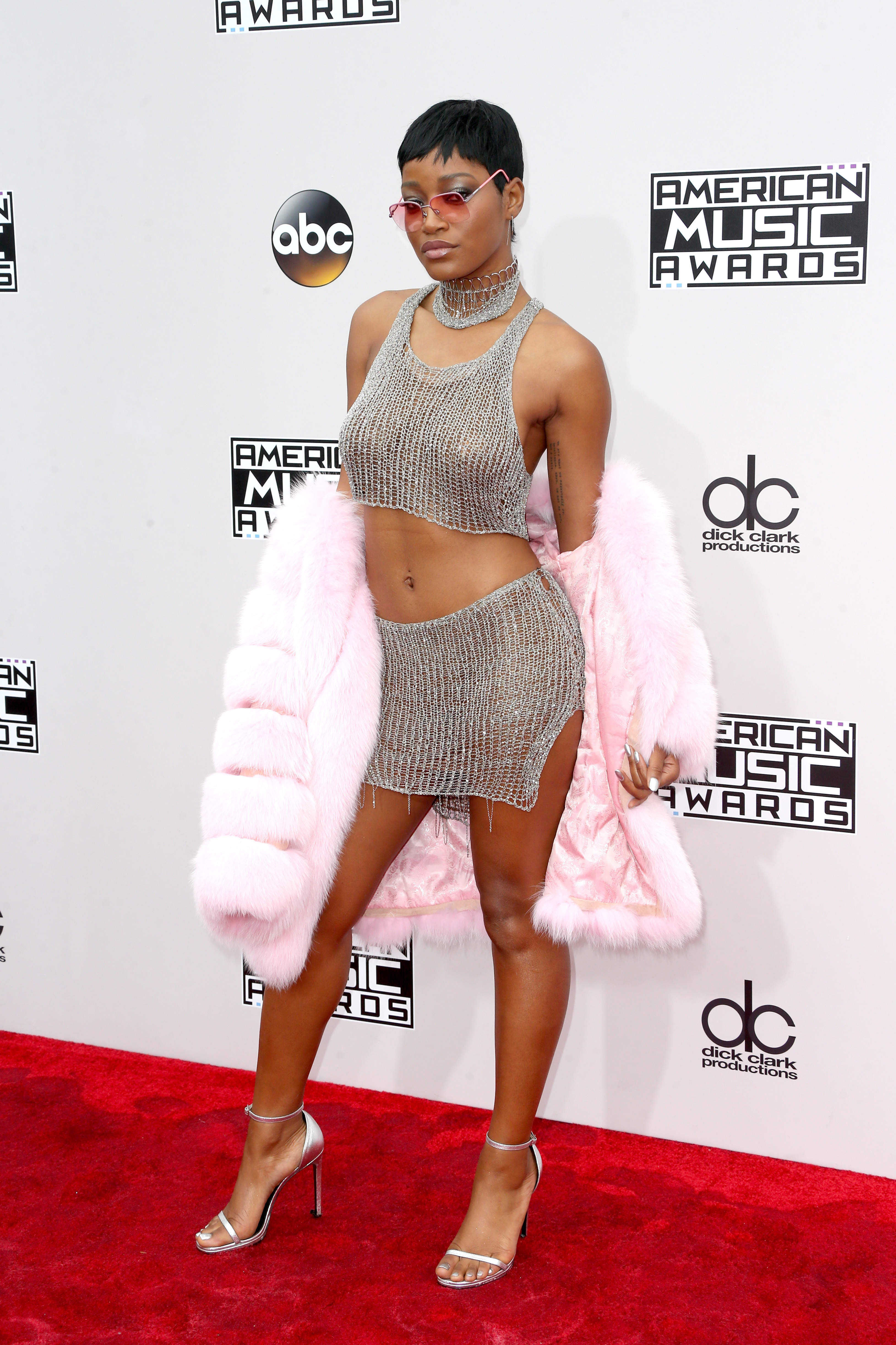 LOS ANGELES, CA - NOVEMBER 20: Actress Keke Palmer attends the 2016 American Music Awards at Microsoft Theater on November 20, 2016 in Los Angeles, California. (Photo by Frederick M. Brown/Getty Images)