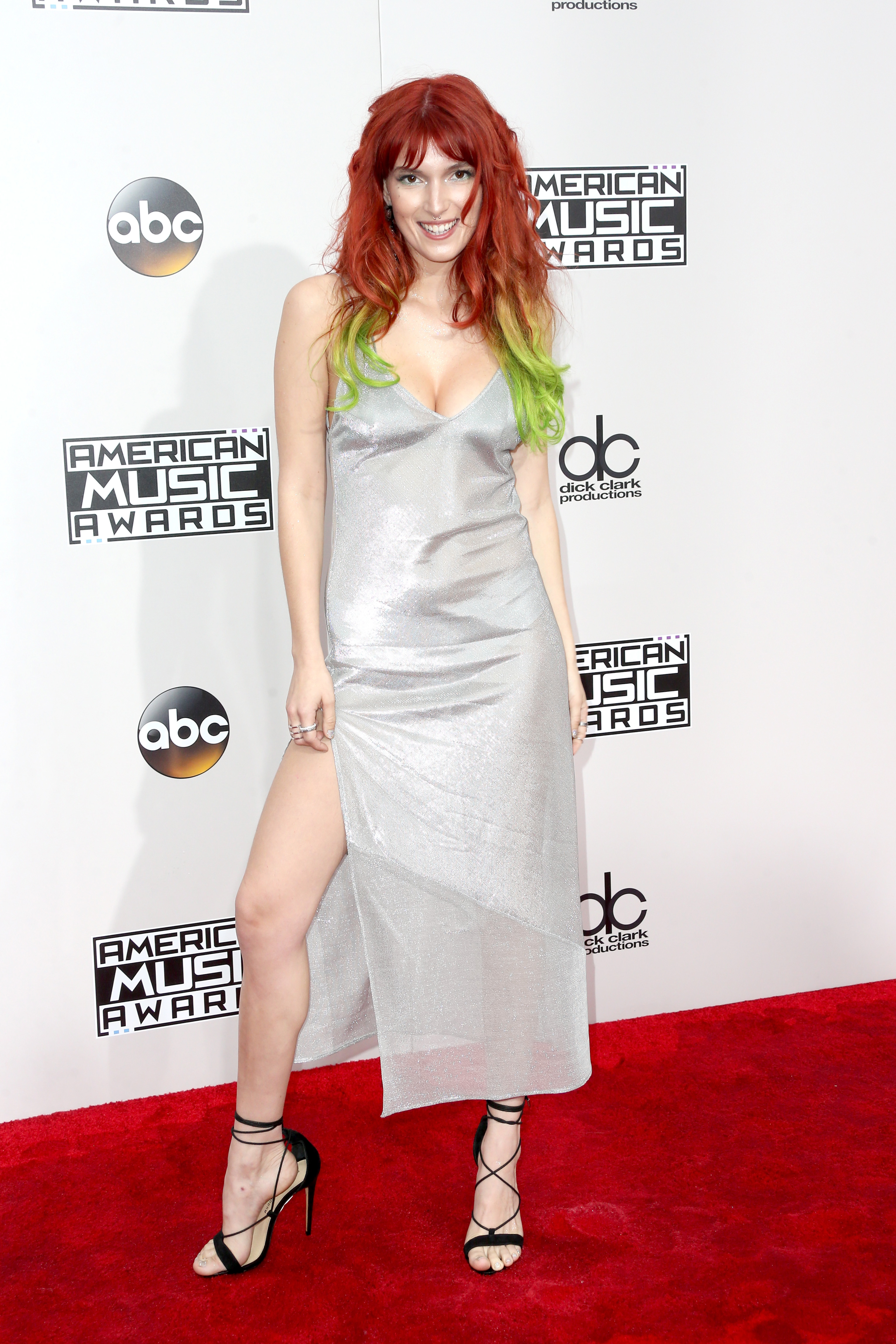 LOS ANGELES, CA - NOVEMBER 20: Actress Dani Thorne attends the 2016 American Music Awards at Microsoft Theater on November 20, 2016 in Los Angeles, California. (Photo by Frederick M. Brown/Getty Images)