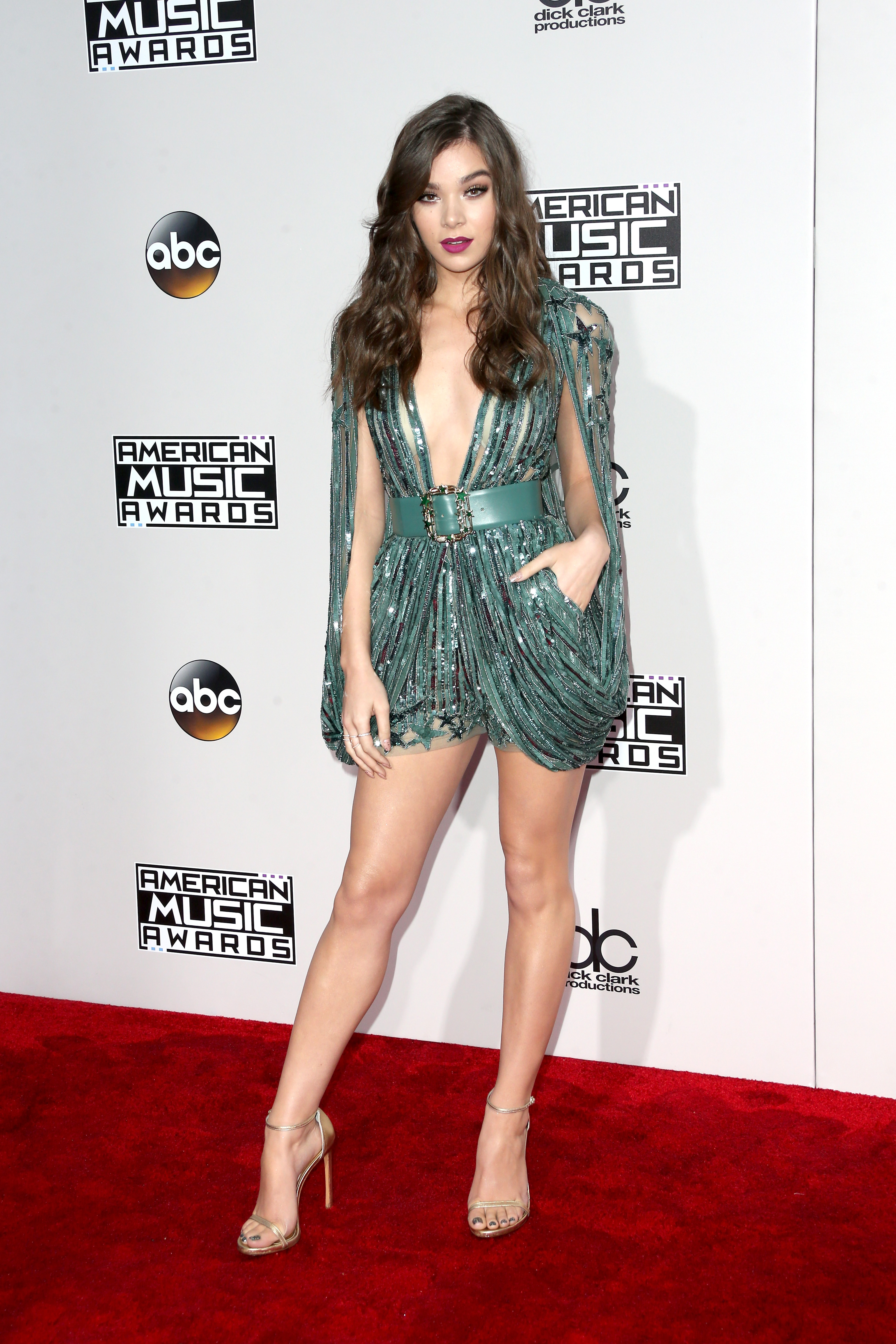 LOS ANGELES, CA - NOVEMBER 20: Actress Hailee Steinfeld attends the 2016 American Music Awards at Microsoft Theater on November 20, 2016 in Los Angeles, California. (Photo by Frederick M. Brown/Getty Images)