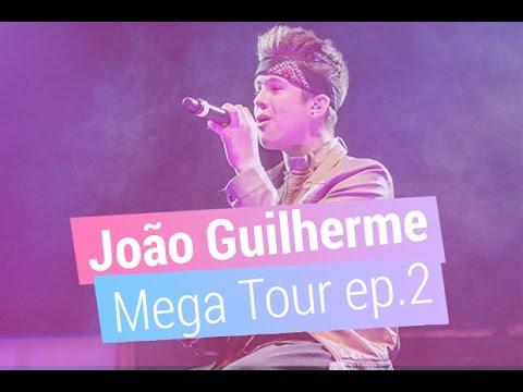 João Guilherme libera bastidores da Mega Tour no sul do Brasil
