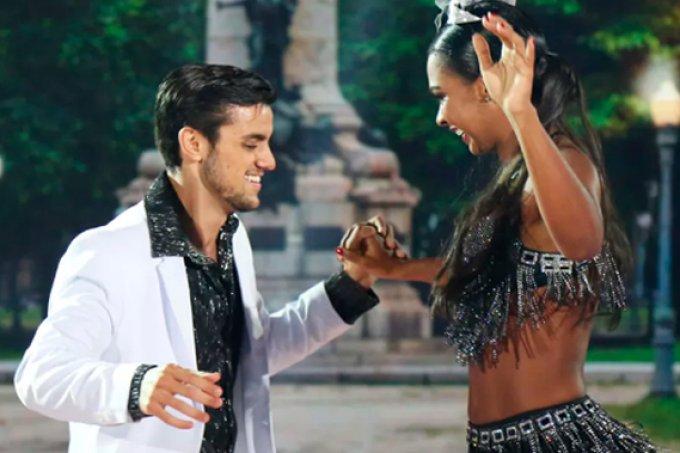 Felipe SImas é o grande vencedo da Dança dos Famosos 2016