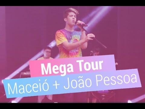 João Gui nos bastidores da Mega Tour em Maceió e João Pessoa
