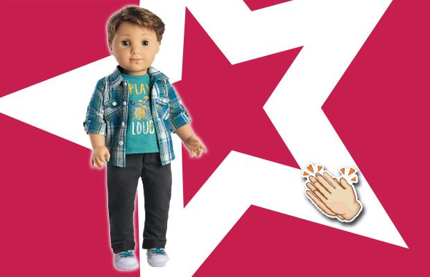 Marca infantil de brinquedos lança primeiro boneco para crianças