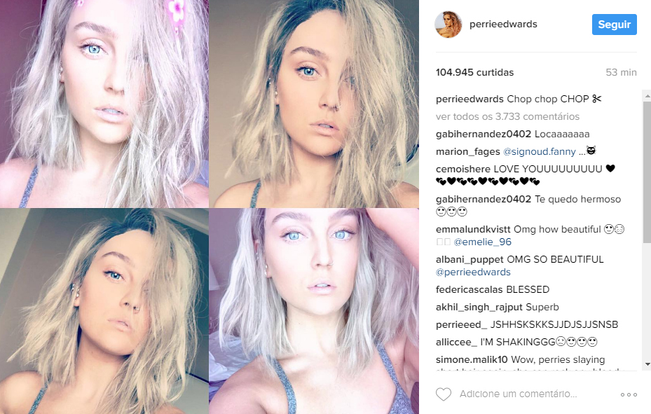 perrie-edwards cabelo