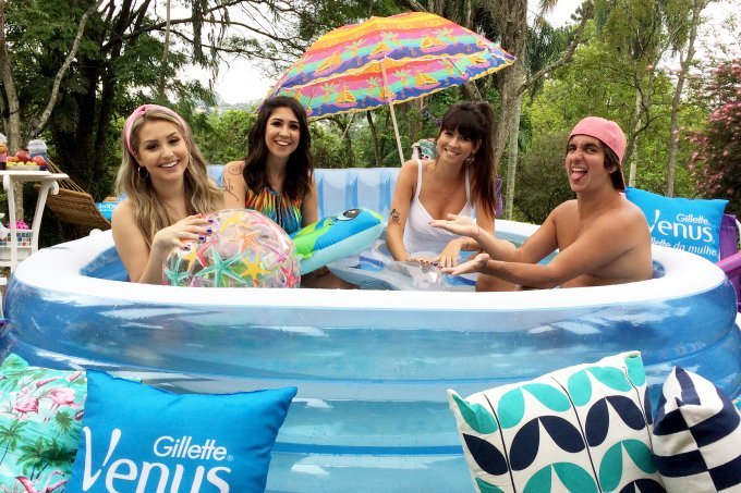 Pool Party by Gillette Venus