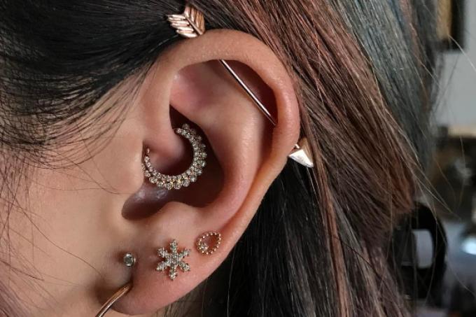 Capturar – piercing