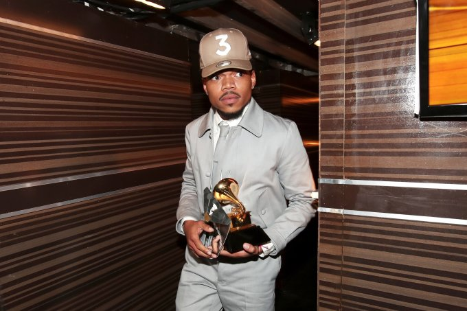 The 59th GRAMMY Awards – Backstage