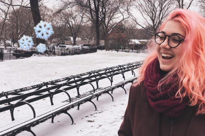 Viagem mágica: Uma Nova York de lagos congelados e muita neve!