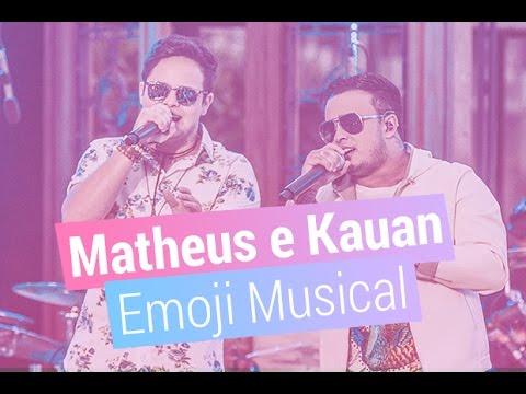 Matheus e Kauan lançam novo DVD e participam do Desafio do Emoji