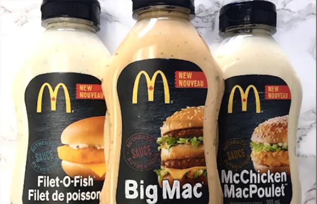 McDonald's agora vende 'molho especial' do Big Mac no mercado!!!