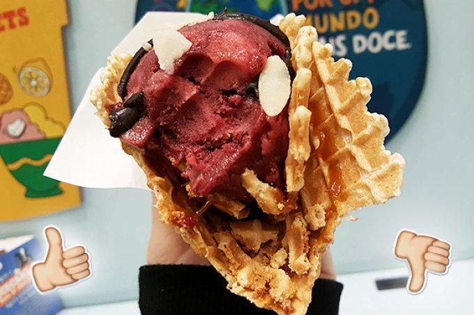 TESTAMOS! CHILL-aco, o taco doce recheado com sorvete da Ben & Jerry's