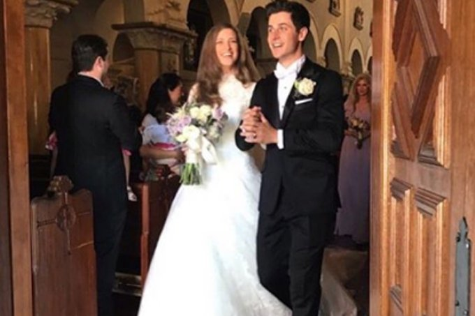 David Henrie casamento