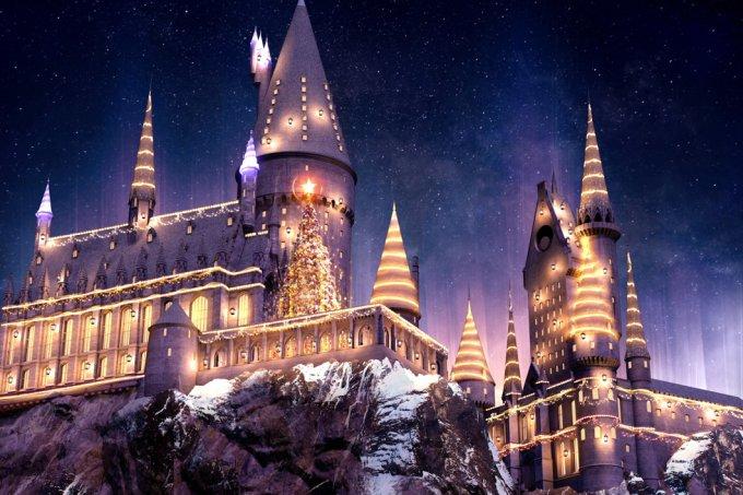 Natal finalmente chega ao The Wizarding World of Harry Potter! o/