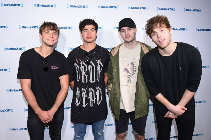 5 Seconds Of Summer Visit The SiriusXM Studios In Los Angeles