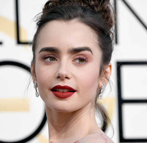 famosas-sombra-rosa-lily-collins