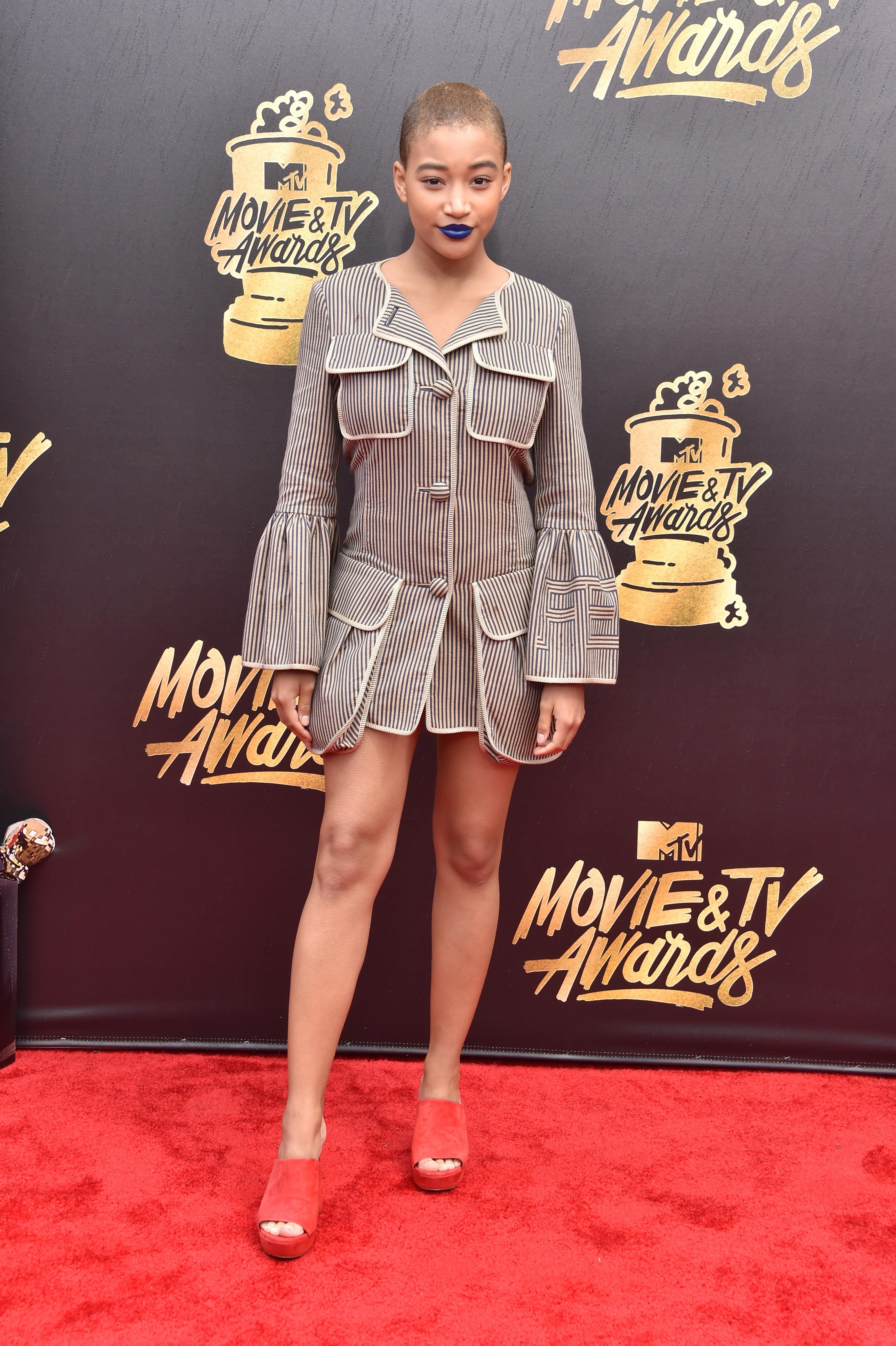 MTV Movie And TV Awards Amandla Stenberg