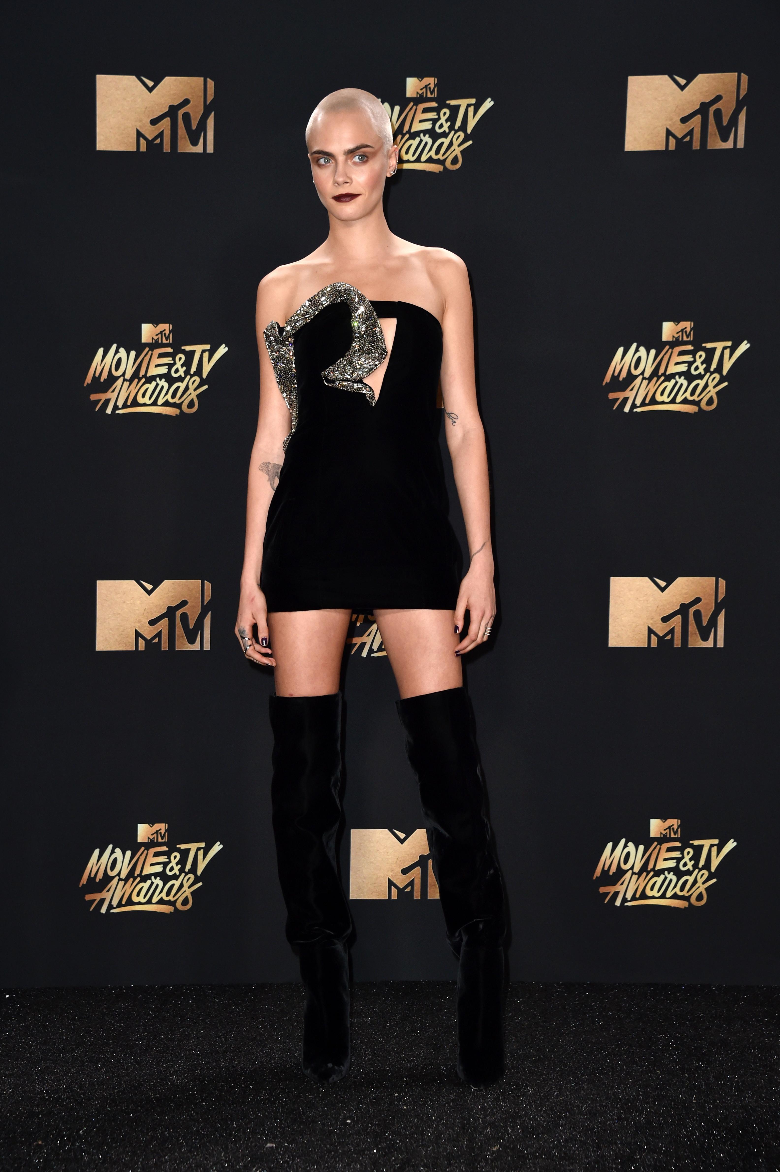 MTV Movie And TV Awards Cara Delevingne
