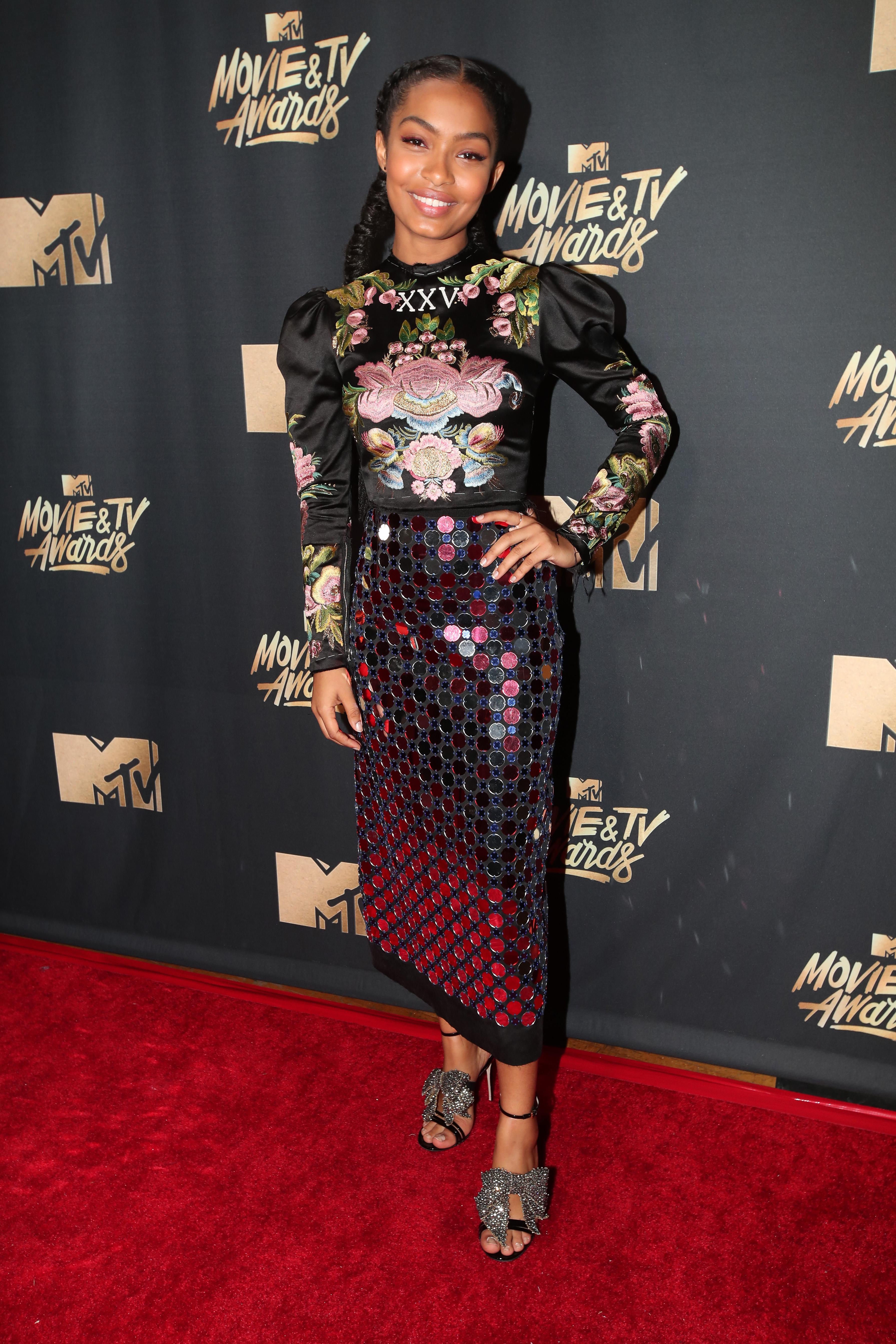 MTV Movie And TV Awards yara shahidi