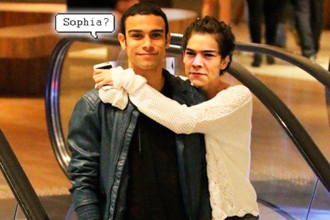Sérgio Malheiros e Harry Styles juntos? Mas cadê a Sophia?!