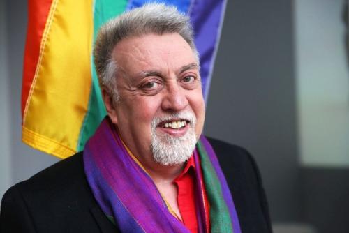 Imagem do criador da bandeira