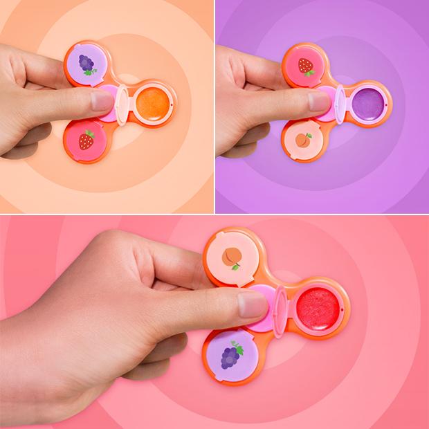 fidget spinner maquiagem