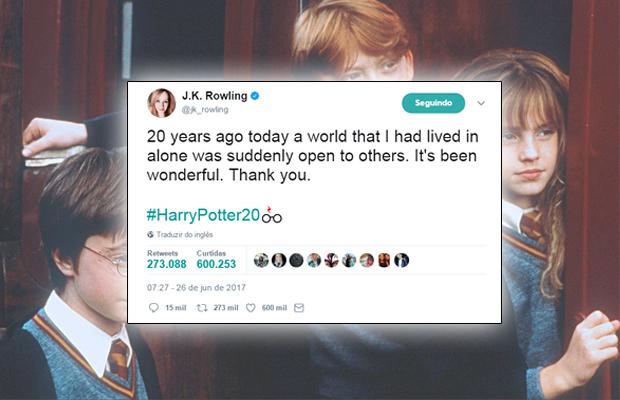 J.K. Rowling: 20 anos de magia
