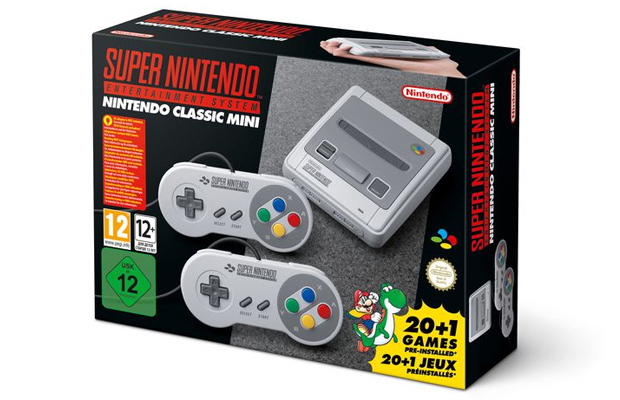 Super Nintendo volta em versão miniatura e com muito Mario!