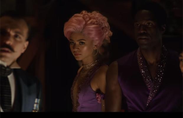 zendaya cabelo rosa The Greatest Showman
