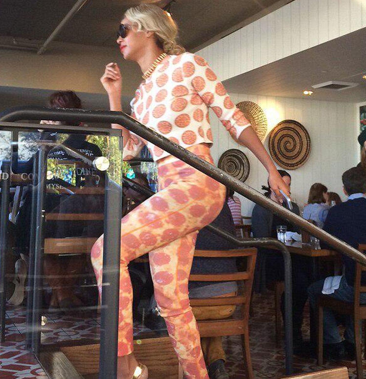 Beyonce pizza