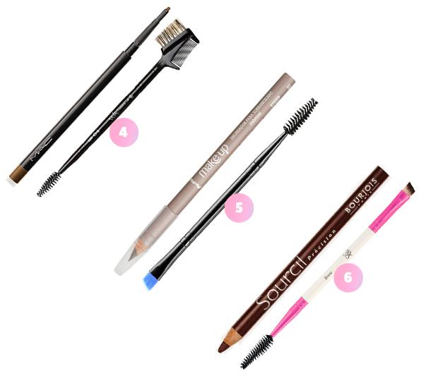 maquiagem lápis sobrancelha escovinha