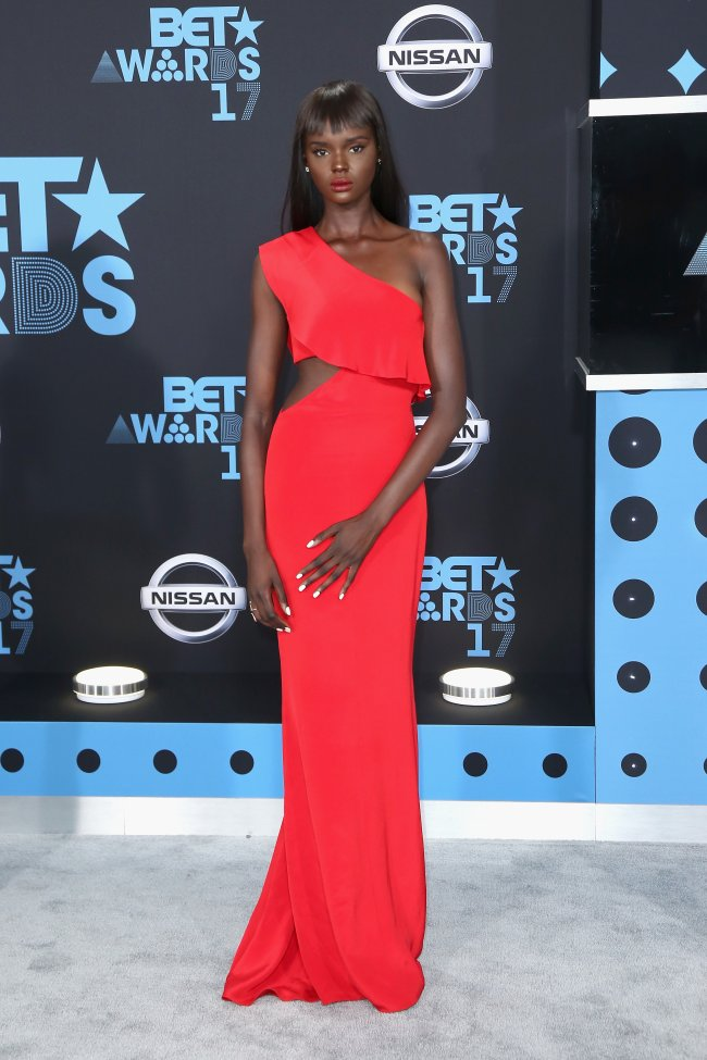 Duckie Thot no BET Awards 2017.