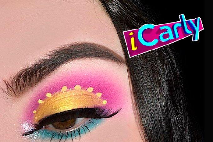 maquiagem-inspirada-séries-icarly