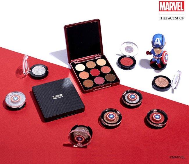Coleção de maquiagem da Marvel